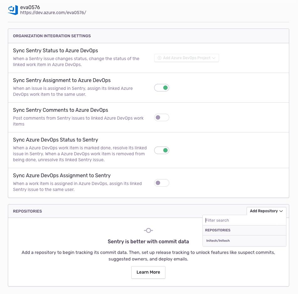 Azure DevOps Config